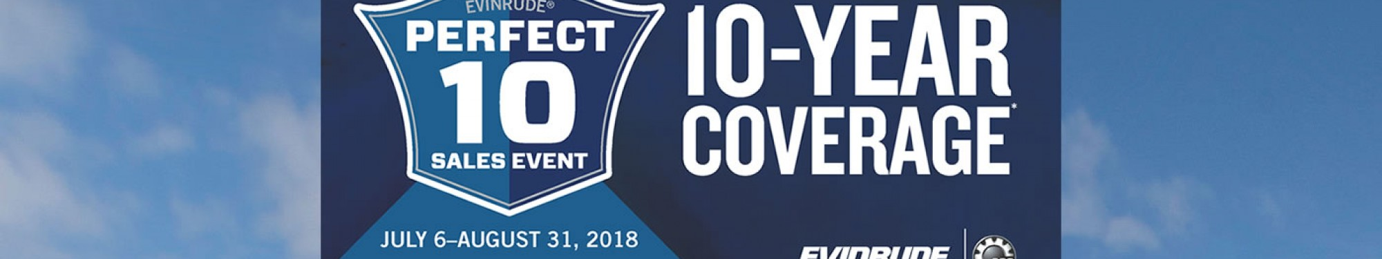 10 Year Coverage on Evinrude Engines at Anchor Marine