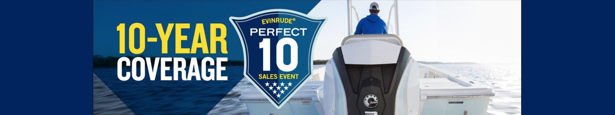 Evinrude Perfect 10 Sales Event 2019