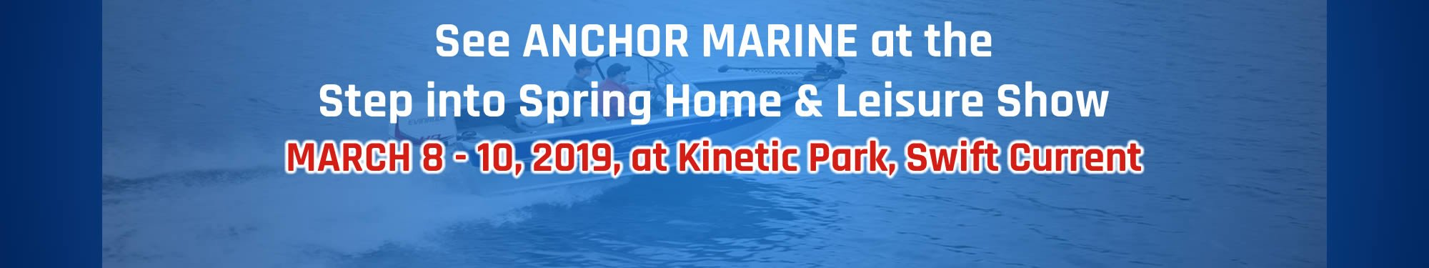 See Anchor Marine at Step into Spring Leisure Show