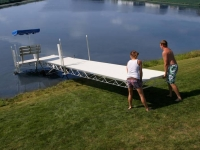 Hewitt Roll-a-Dock