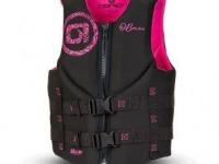 O'Brien Ladies Flex V Back Pink Neoprene