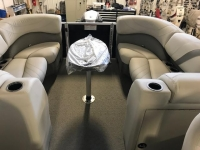 Sylvan Mirage 8524 LZ Port Tri-toon Pontoon Boat - Floor Plan