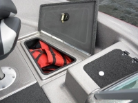 Warrior V1898 DC Fishing Boat - Bow Storage