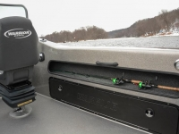 Warrior V208 DC Fishing Boat - Rod Shelf & Side Rod Locker
