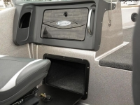 Warrior V208 DC Fishing Boat - Glove Box & Under Console Storage