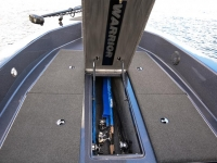 Warrior V2090 Backtroller Fishing Boat - Center Rod Storage